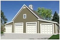 4-Car Garage Building Plans