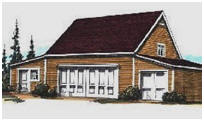 Country Garage and Shop Plans