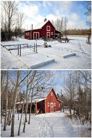 Check out architect Don Berg's economical small pole barn plans for homesteads, small farms and country properties.
