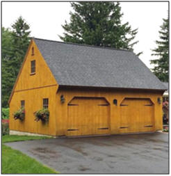 Post and Beam Barn and Garage Building Kits from Country Carpenters