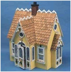 "You can find 32 beautiful, 1"" scale Greenleaf doll house building kits at Amazon.com"