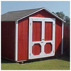 The Organizer Storage Shed - Do It Yourself Plans in Nineteen Sizes from Backyard3.com