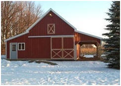 Find all types of barn plans at BarnsBarnsBarns.com