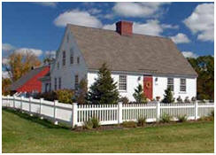 Early New England Style Home Building Kits at EarlyNewEnglandHomes.com