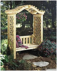 Arbor,Trellis, Pergola and Gazebo Plans from PlansNow.com - These inexpensive, downloadable woodwork plans are perfect for do-it-yourself builders.