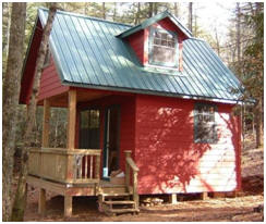 Little Cabin and Country Cottage Plans - Fiind building plans for small and simple country homes, barns, garages, sheds, apartment garages and more at BackroadHomes.com