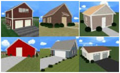 Design your own garage workshop shed or barn with plan3d for Build your own barn online